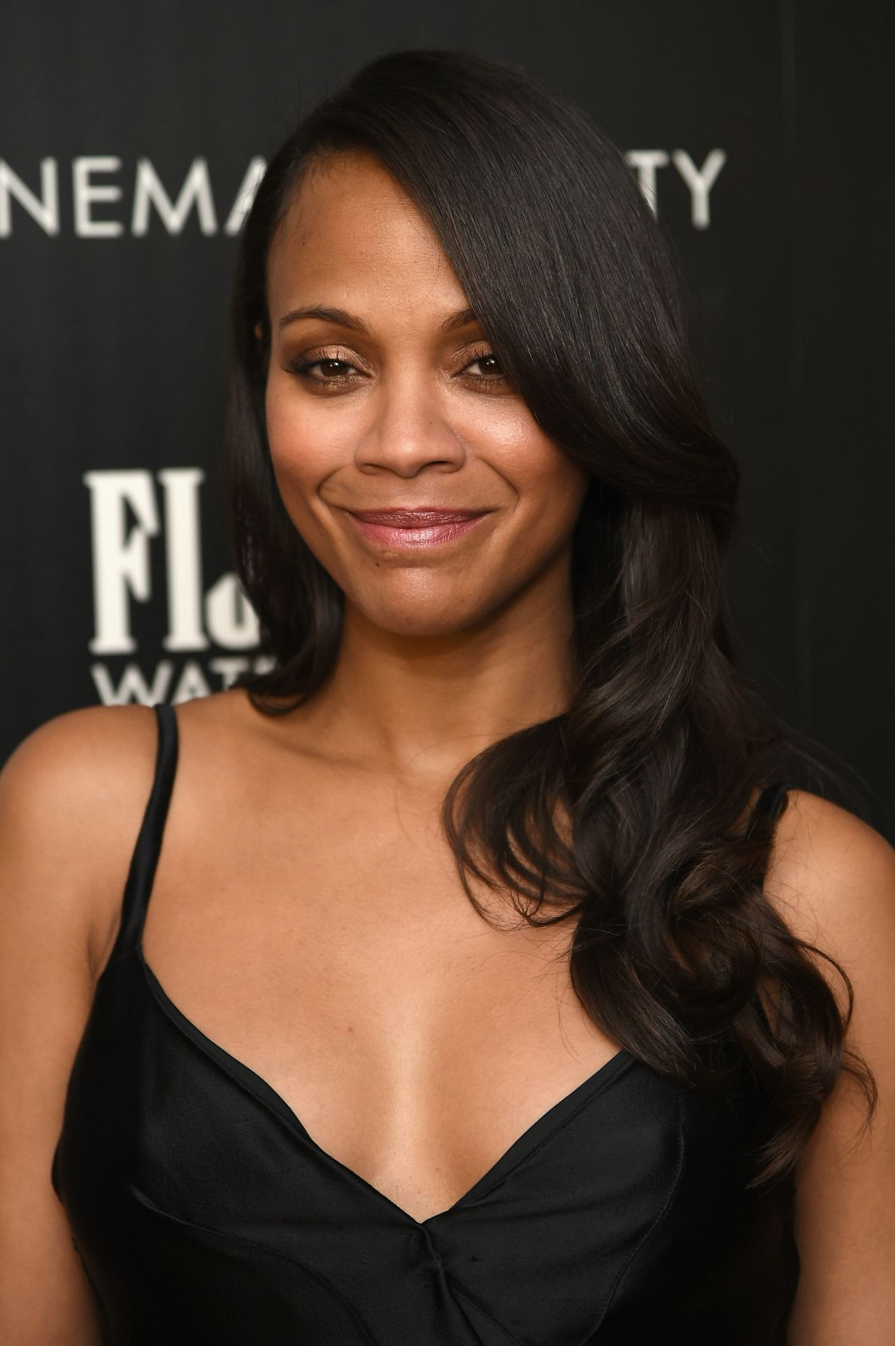 Zoe Saldana Guardians Of The Galaxy Screening In New