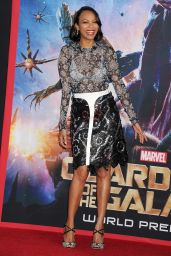 Zoe Saldana – 'Guardians of the Galaxy' World Premiere in Los Angeles