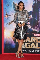 Zoe Saldana – 'Guardians of the Galaxy' World Premiere in Los Angeles