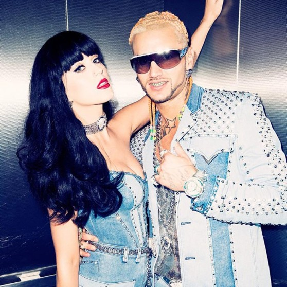 Katy Perry and RiFF RAFF Instagram Pic – August 2014