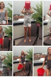 Sylvie Meis Ice Bucket Challenge