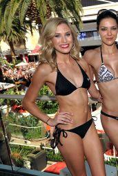 Adrianne Curry Bikini Photos - Encore Beach Club in Las Vegas - August 2014