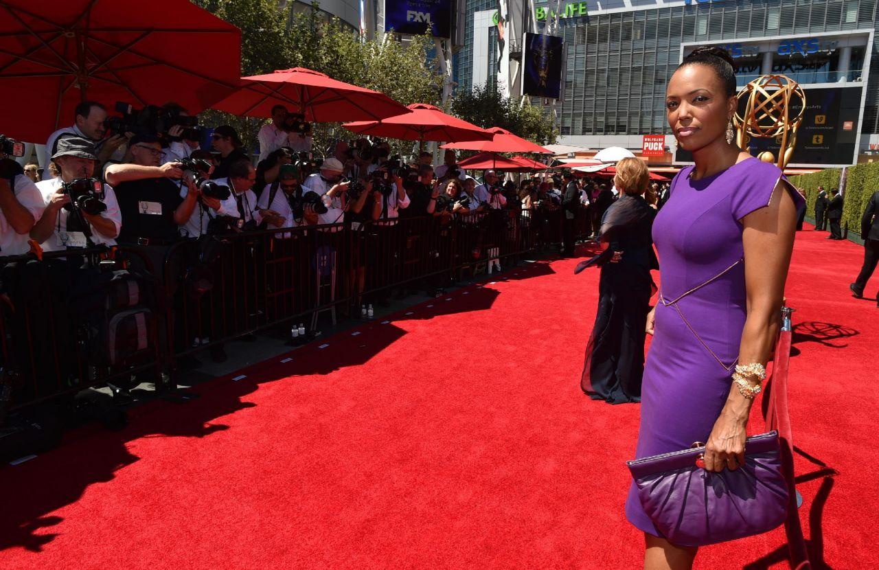 Aisha Tyler - 2014 Creative Arts Emmy Awards