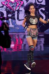 AJ Lee vs. Paige - Divas Championship Match at WWE SummerSlam in Los Angeles