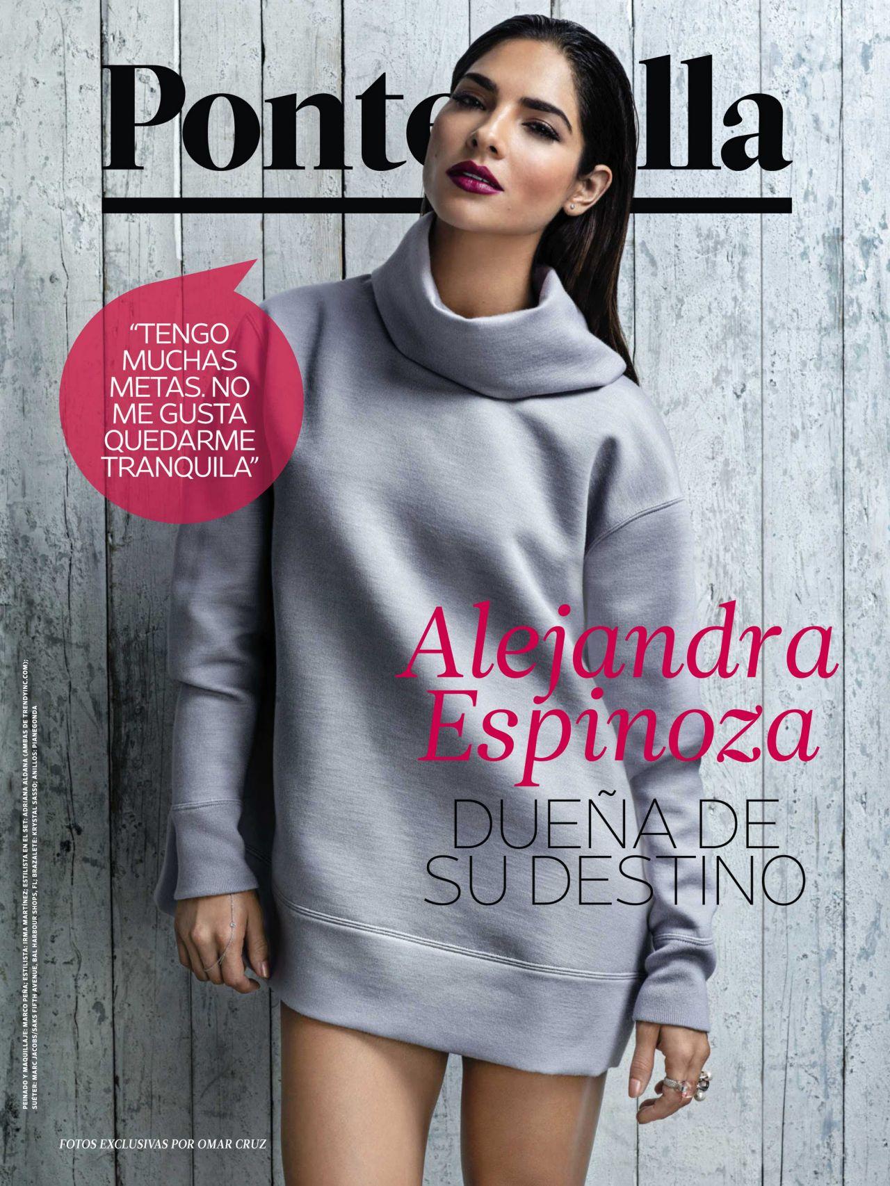 Alejandra Espinoza - People en Espanol Magazine - September 2014