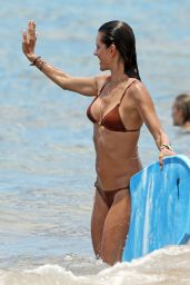 Alessandra Ambrosio in a Bikini - Hawaii, August 2014