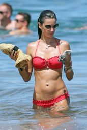 Alessandra Ambrosio in a Bikini in Hawaii - August 2014