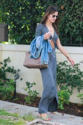 Alessandra Ambrosio - Leaving Her Home in Los Angeles - August 2014