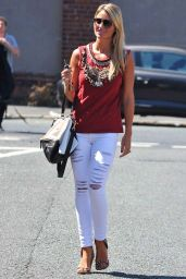 Alex Gerrard Casual Style - Out In Liverpool, July 2014