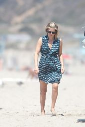 Ali Larter on a Beach in Los Angeles - August 2014