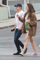 Alison Brie Leggy - Out in Los Angeles - August 2014