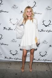 Amanda AJ Michalka – For Love and Lemons 2014 SKIVVIES Party in Los Angeles