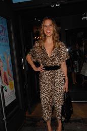 Amanda Byram – 'Some Girl I Used To Know' Press Night Performance in London