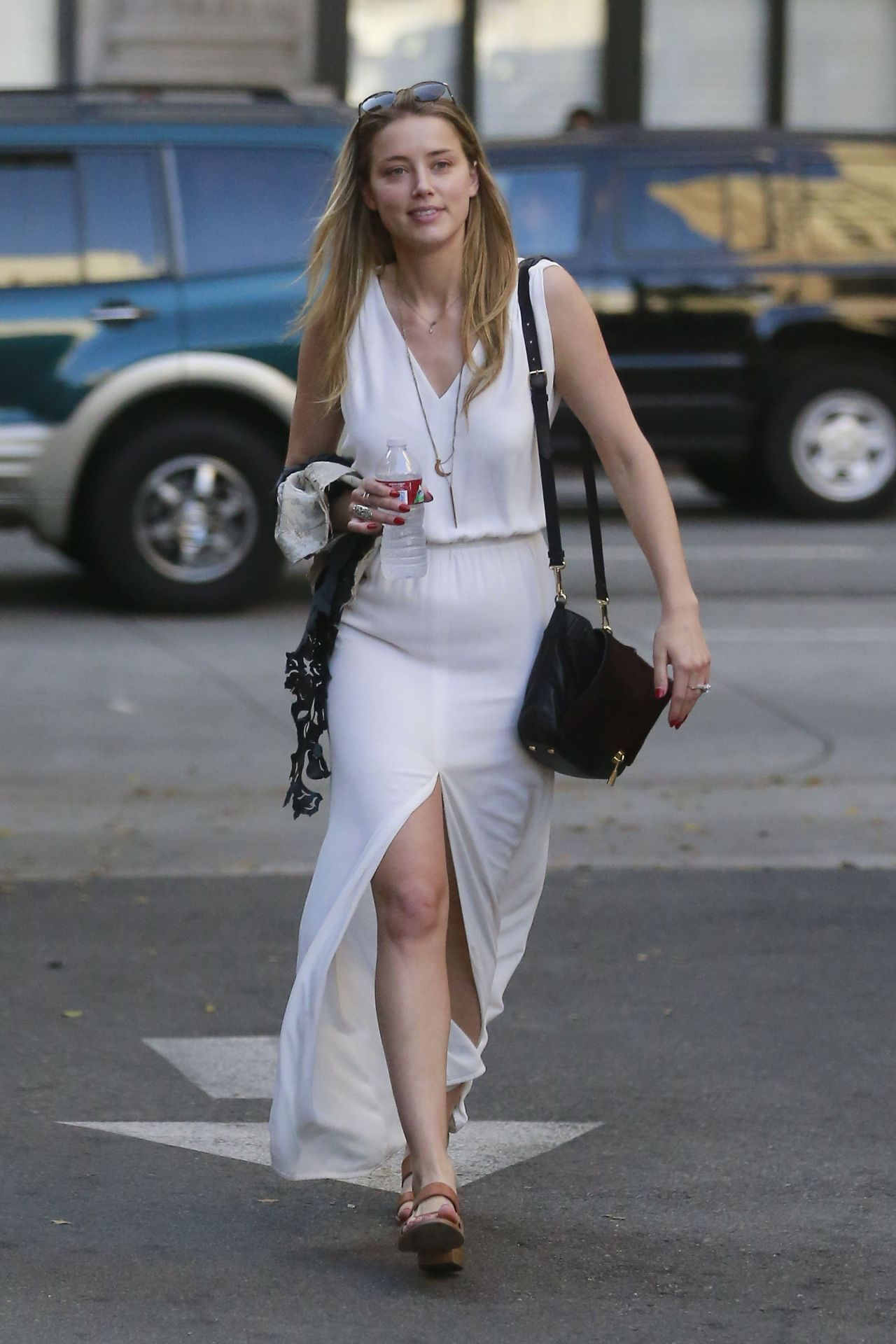 amber heard out in los angeles august 2014