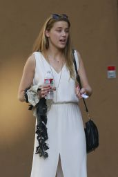 Amber Heard - Out in Los Angeles, August 2014