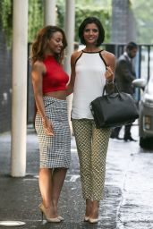 Amelle Berrabah & Lucy Mecklenburgh - ITV Studios in London - August 2014