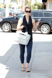 Amy Adams - Out With a Friend in Los Angeles - August 2014