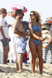 Amy Willerton in a Bikini in Saint-Tropez - August 2014