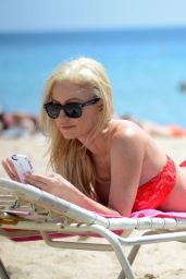 Ana Braga Hot in Bikini at the Beach in Miami - August 2014