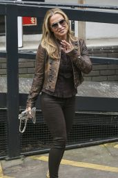 Anastacia - Arriving at the ITV Studios in London - August 2014