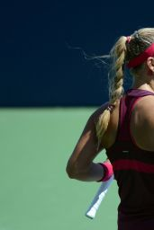 Angelique Kerber – 2014 U.S. Open Tennis Tournament in New York City – 1st Roud