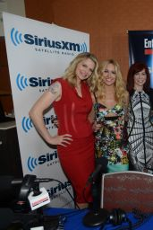 Anna Camp & Kristin Bauer van Straten - SiriusXM Broadcasts From SDCC 2014