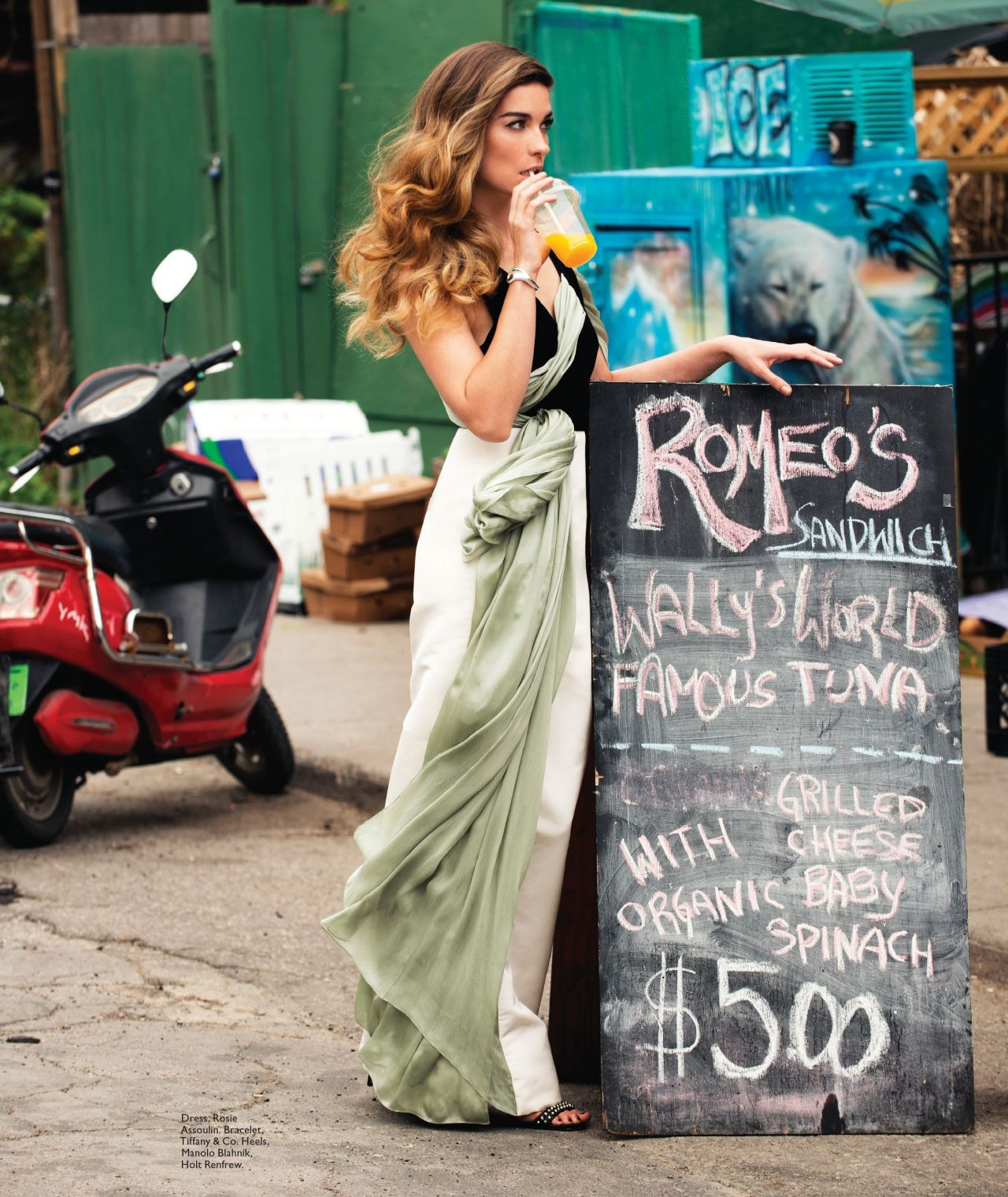 Annie Murphy Flare Magazine Canada September 2014 Issue