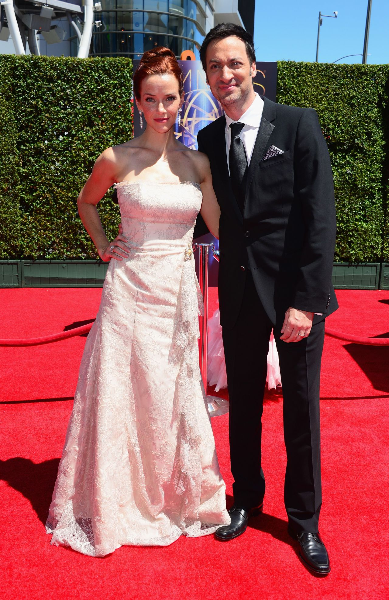 Annie Wersching - 2014 Creative Arts Emmy Awards
