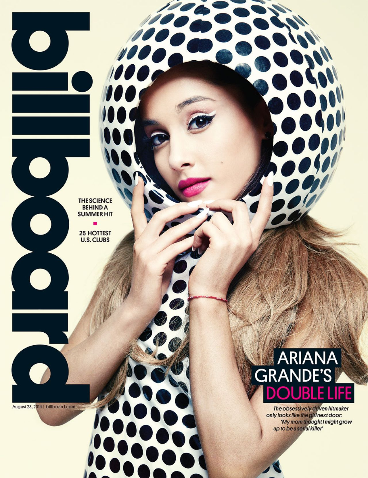 Ariana Grande - Billboard Magazine August 23, 2014 Cover