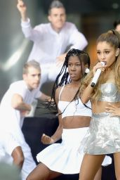Ariana Grande Performs on NBC