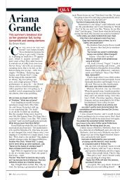 Ariana Grande - Rolling Stone Magazine Q&A September 11, 2014 Issue