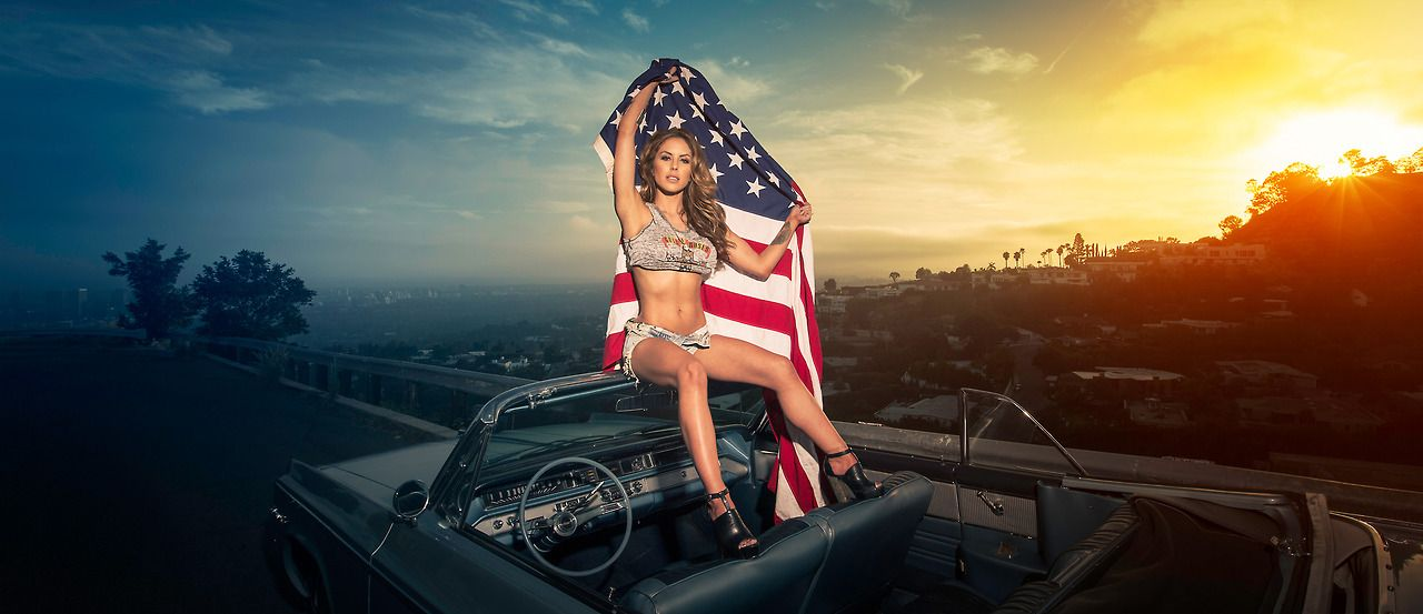 Arianny Celeste And Brittney Palmer Photoshoot 2014