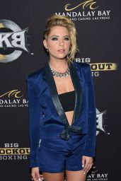 Ashley Benson – Big Knockout Boxing Inaugural Event in Vegas – August 2014