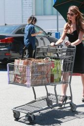 Ashley Greene Shopping at Bristol Farms in West Hollywood - August 2014