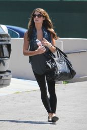 Ashley Greene Street Style - Out in Los Angeles - August 2014