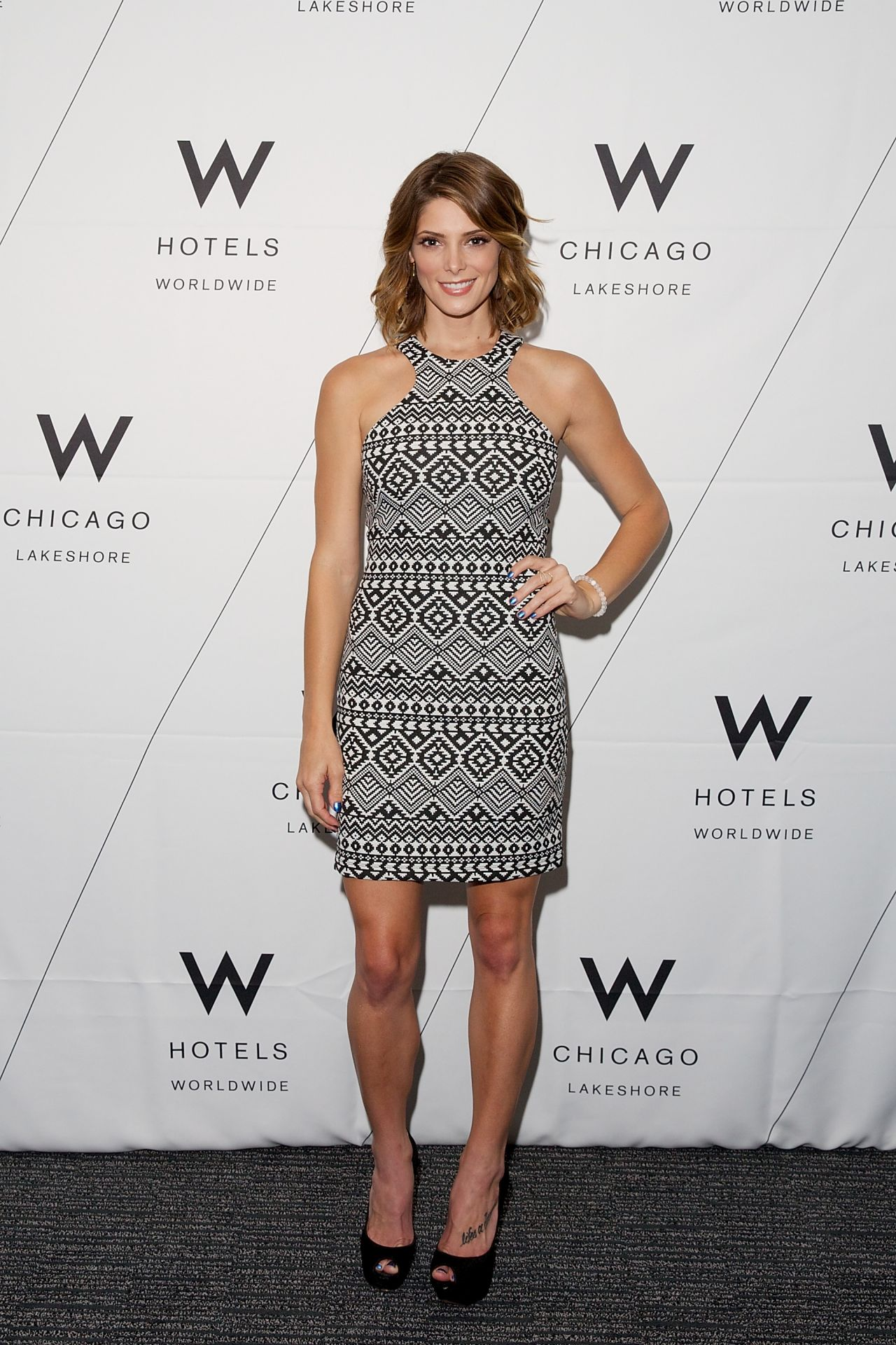 Ashley Greene - W Hotels of Chicago Lakeshore Reveal Party, July 2014