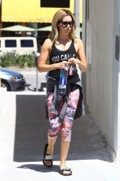 Ashley Tisdale Street Style - Out in Studio City - August 2014