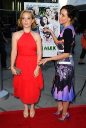 Aubrey Plaza – 'About Alex' Premiere in Hollywood