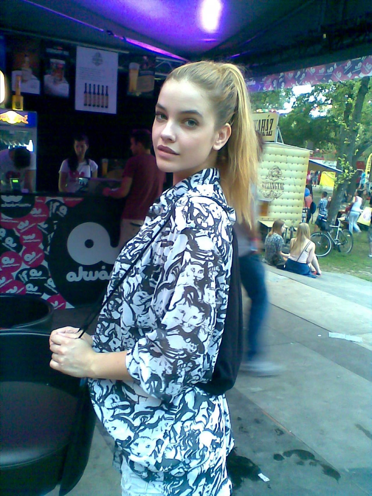 Barbara Palvin at Sziget Festival at Óbudai Island in Budapest - August 2014