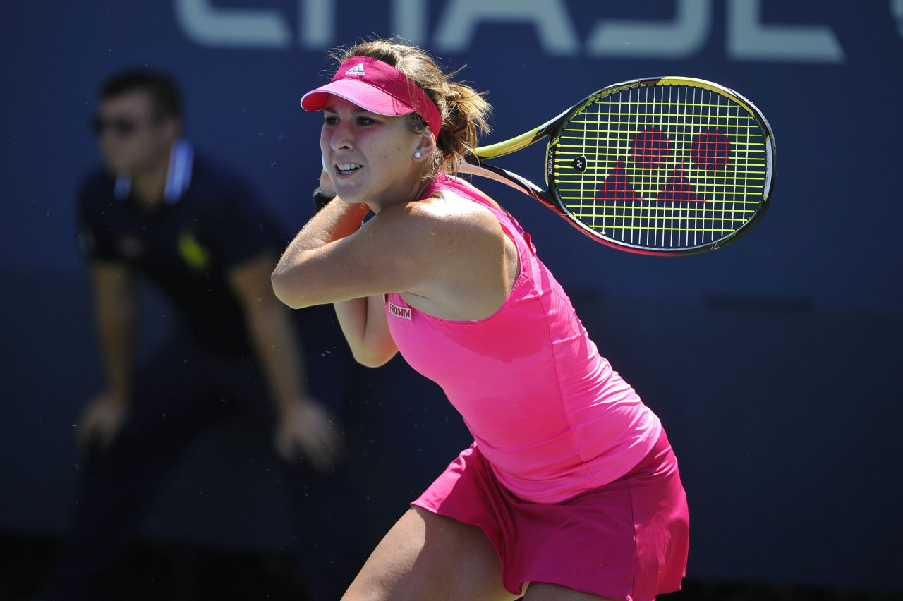 Belinda Bencic - 2014 U.S. Open Tennis Tournament in New York City - 2nd Roud