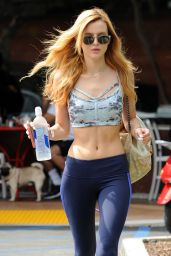 Bella Thorne - Leaving The Gym in Brentwood - August 2014