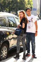 Bella Thorne Street Style - Out in Los Angeles - August 2014