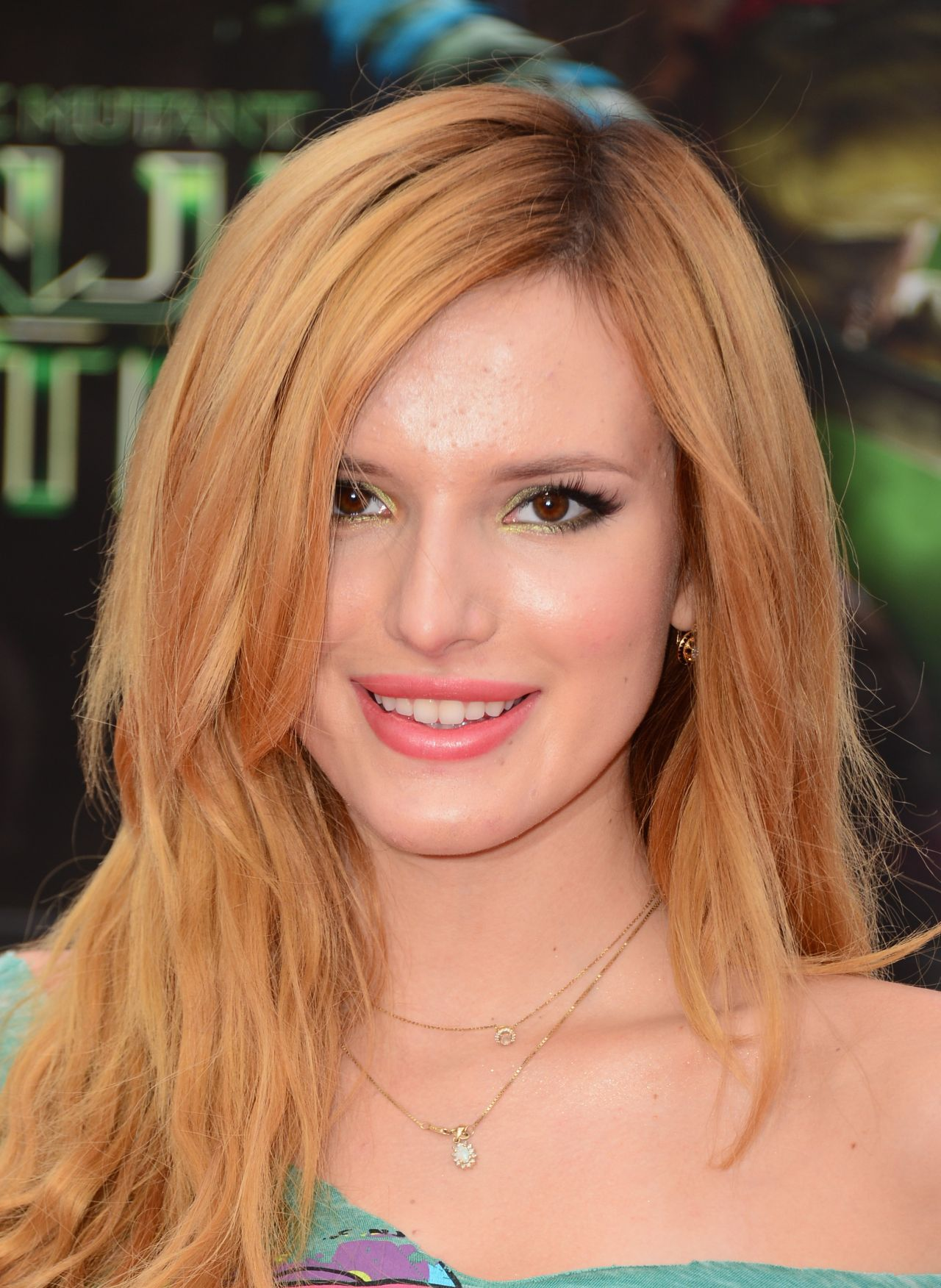 Bella Thorne Teenage Mutant Ninja Turtles Premiere In