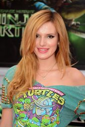 Bella Thorne – 'Teenage Mutant Ninja Turtles' Premiere in Westwood