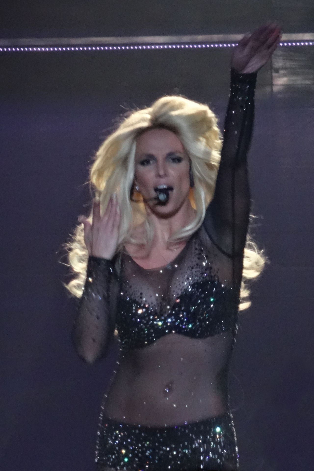 Britney Spears Performs in Las Vegas, August 2014 Britney Spears Las Vegas