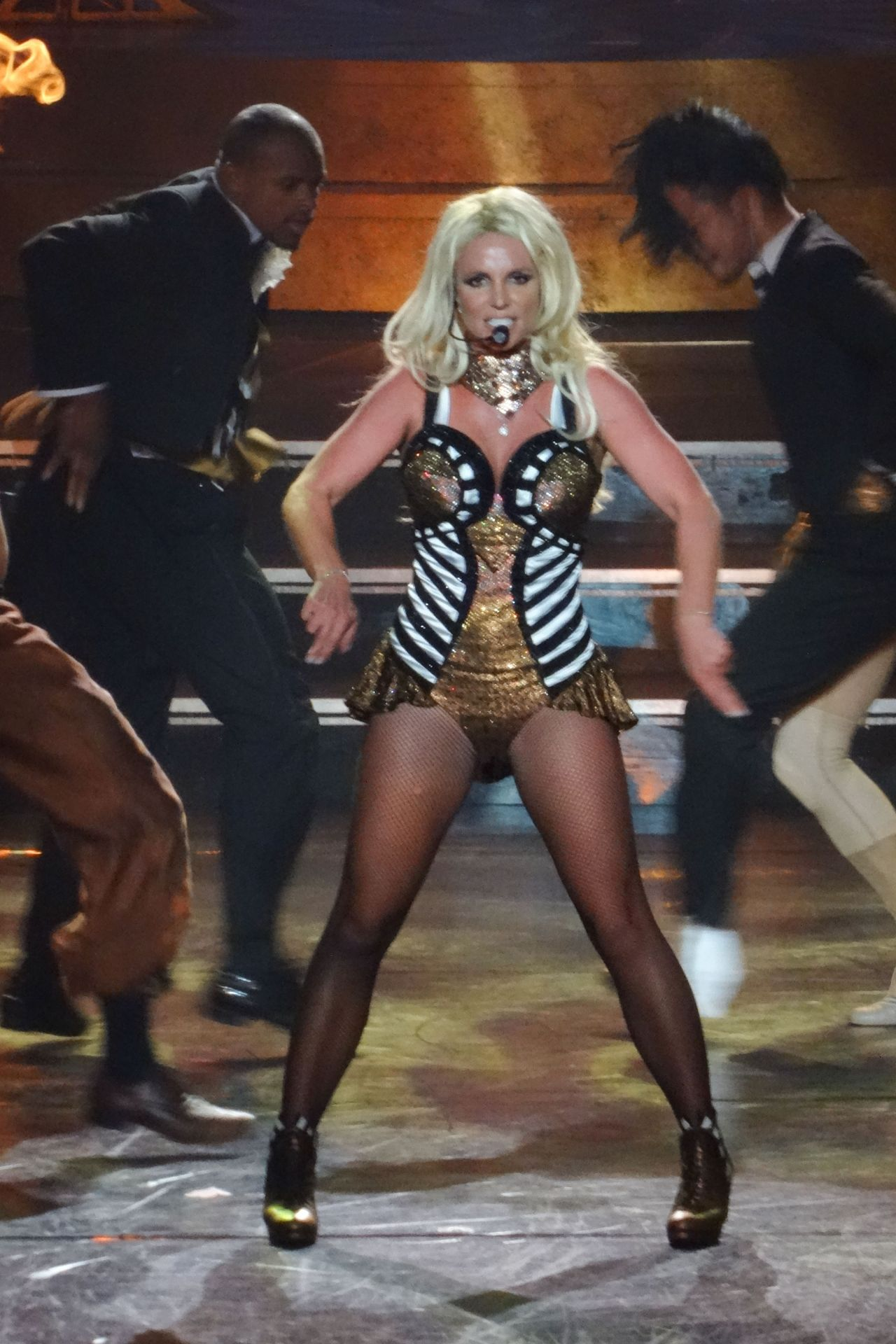 Britney Spears Performs In Las Vegas August 2014