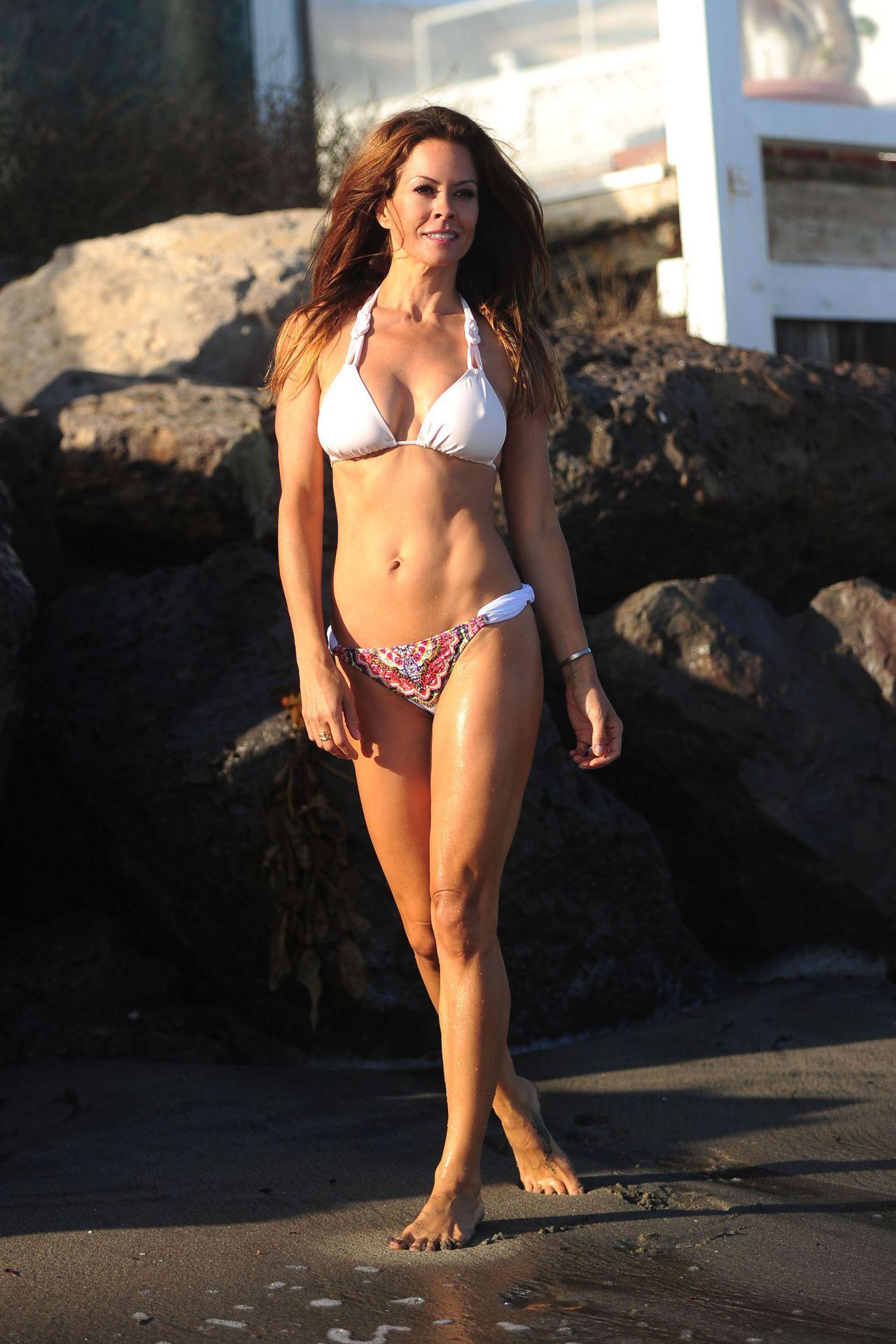 Brooke Burke In A Bikini At A Malibu Beach August 2014