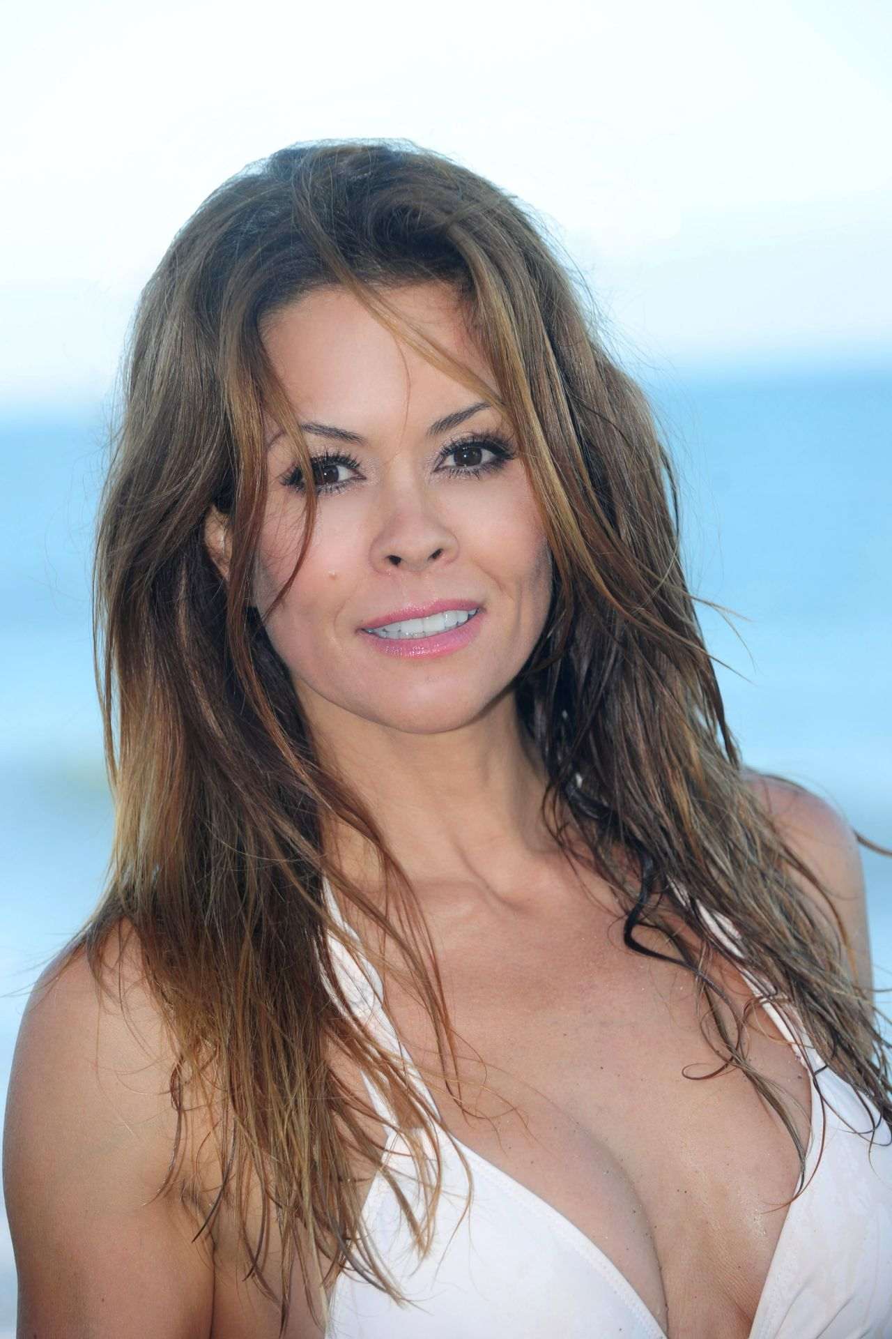 Brooke Burke In A Bikini At A Malibu Beach August 2014