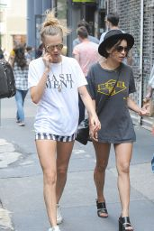 Cara Delevingne & Zoe Kravitz - Outin New York City, Aug. 2014
