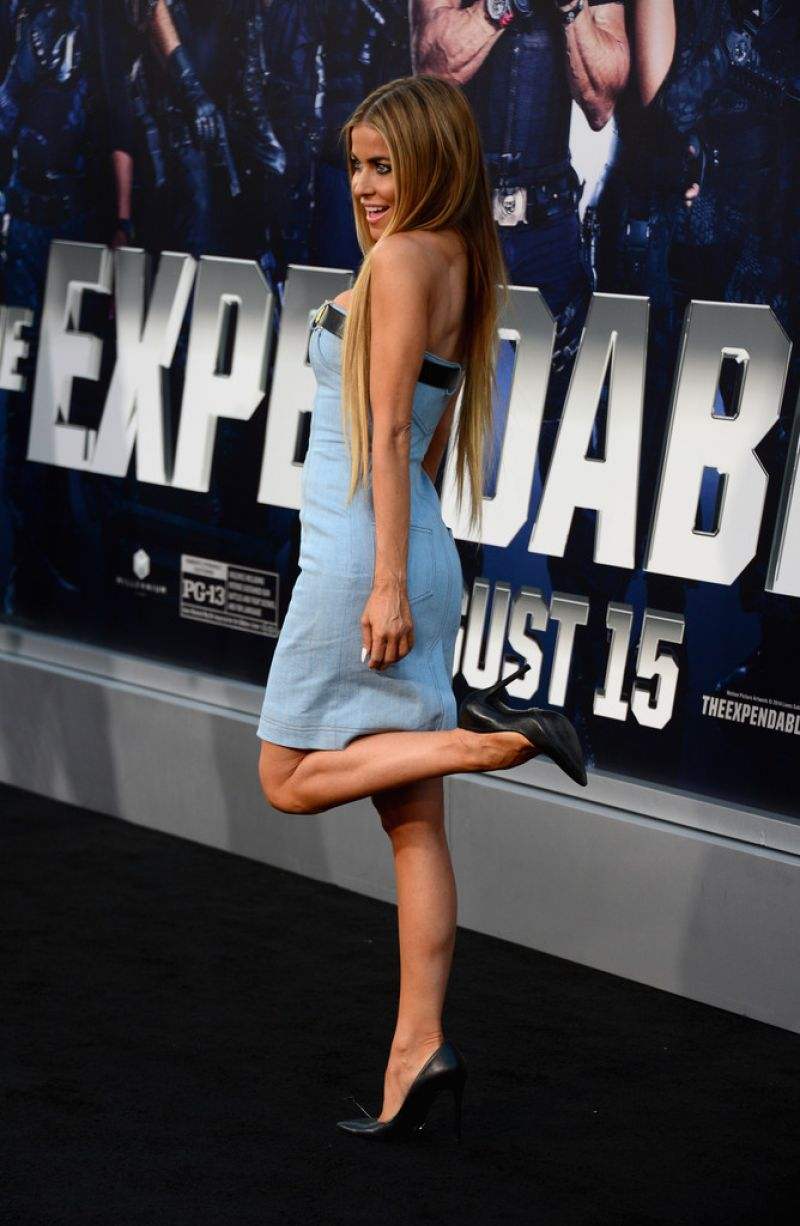 Carmen Electra - 'The Expendables 3' Premiere in Hollywood